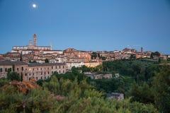 Siena, Tuscany, Italy. View of the Siena, Tuscany, Italy stock image
