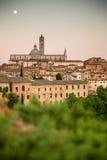 Siena, Tuscany, Italy. View of the Siena, Tuscany, Italy royalty free stock photo