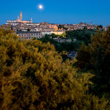 Siena, Tuscany, Italy. View of the Siena, Tuscany, Italy stock images