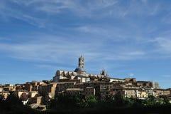 Siena Tuscany panorama 2 Arkivbilder