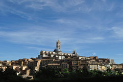 Siena Tuscany panorama 2 Stock Images