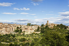 Siena in Tuscany Royalty Free Stock Image