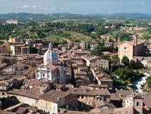 Siena und Toskana Stockbilder