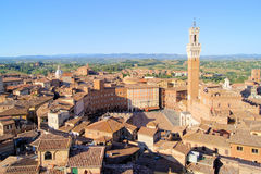 Siena view Royalty Free Stock Photo
