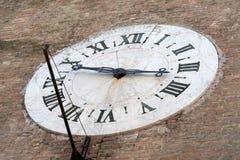 Siena włochy zegarowa stara ściana obraz royalty free
