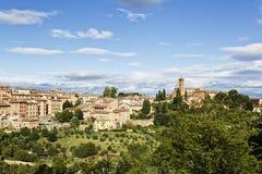 Siena w Tuscany obraz royalty free