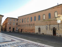 Siena, widok centrum miasta Zdjęcie Royalty Free