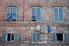Siena Windows Photos libres de droits