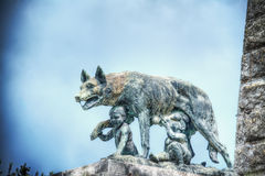 Siena she-wolf statue Royalty Free Stock Images