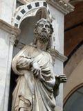 Siena - wunderbar verzierte Kapella di Piazza Lizenzfreie Stockfotografie
