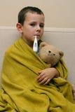 Siendo enfermo Foto de archivo
