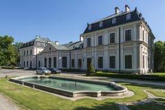 Sieniawa pałac w Polska zdjęcie stock