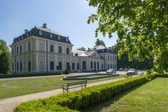 Sieniawa pałac w Polska zdjęcia royalty free