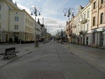 Sienkiewicza-Straße Lizenzfreie Stockbilder