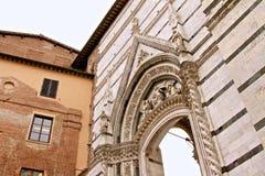 Sienna Buildings Fotografía de archivo libre de regalías