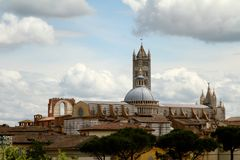 Sienna Buildings Imágenes de archivo libres de regalías