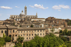 Sienna city. Tuscany, Italy Stock Photography