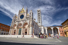 Sienna Italy Cathedral Immagine Stock Libera da Diritti