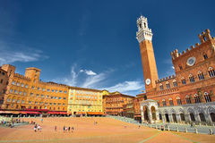 Sienna Italy Center imagens de stock royalty free