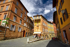 Sienna Italy Street Fotografie Stock