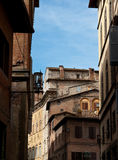 Sienna - medieval town Stock Image