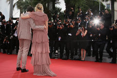 Sienna Miller. Attends the 'Macbeth' Premiere during the 68th annual Cannes Film Festival on May 23, 2015 in Cannes, France Royalty Free Stock Image