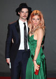 Sienna Miller, Tom Sturridge Lizenzfreie Stockfotos