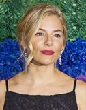 Sienna Miller at the 2019 Tony Awards stock image