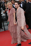Sienna Miller & Xavier Dolan Fotografia de Stock Royalty Free