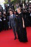 Sienna Miller y Xavier Dolan Fotografía de archivo