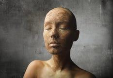 Sienna queimado Fotografia de Stock Royalty Free