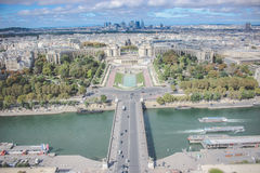 Sienna River - Paris - Frankrike Royaltyfri Foto