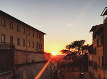 Sienna Sunset Photo stock