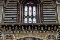 SIENNA, TUSCANY/ITALY - MAY 18 : Interior view of  Sienna Cathed Stock Photos