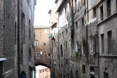 Sienne在意大利 免版税库存照片