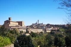 Sienne - l'Italie photos stock