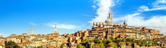 Sienne, Toscane, Italie images libres de droits