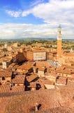 Sienne, Toscane, Italie photo stock