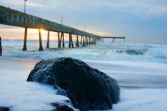 Sienta el océano Imagenes de archivo