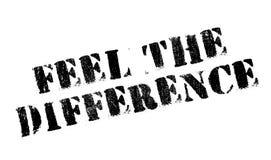 Sienta el sello de goma de la diferencia Fotografía de archivo libre de regalías