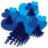 Siento azul Foto de archivo