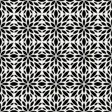 Sier Abstract bloementegels naadloos vectorpatroon Geometrische bloemachtergrond Royalty-vrije Stock Foto's