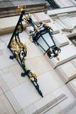 Sier barokke lantaarn Royalty-vrije Stock Foto's