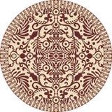 Sier-cirkel royalty-vrije illustratie