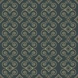 Sier decoratief patroon Royalty-vrije Stock Afbeeldingen