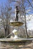 Sier, Fonteinen en tuinen van het paleis van Aranjuez in M royalty-vrije stock foto's