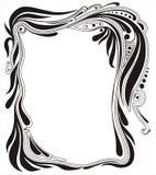 Sier frame Royalty-vrije Stock Afbeelding