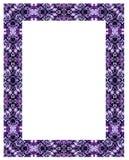 Sier frame. Royalty-vrije Stock Foto's