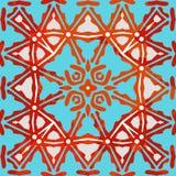 Sier Kleurrijk Patroon Vector illustratie Stock Fotografie