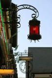 Sier lantaarn Stock Foto